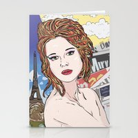 france Stationery Cards featuring France by • PASXALY •