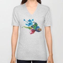 COLORFUL FISH 2 Unisex V-Neck