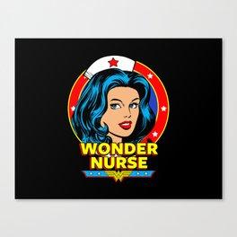 Wonder Nurse Canvas Print