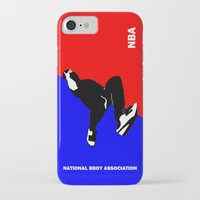 nba iPhone & iPod Cases featuring NBA National Bboy Association by Funky House