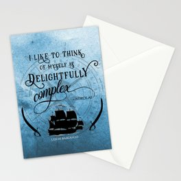Delightfully complex quote - Nikolai Lantsov - Leigh Bardugo Stationery Cards