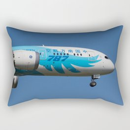 China Southern Airlines Boeing 787 Rectangular Pillow