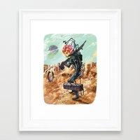prometheus Framed Art Prints featuring Prometheus by Logan  Faerber