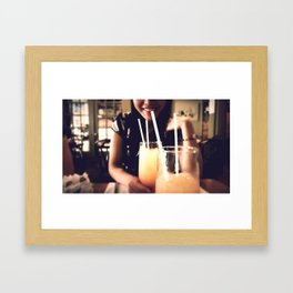 Brunch  Framed Art Print