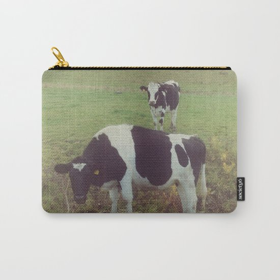 Rustic Cows Carry-All Pouch
