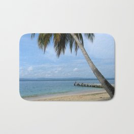 Isle of San Blas PANAMA - the Caribbeans Bath Mat