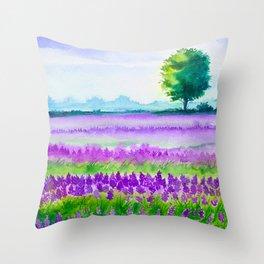 Spring scenery #8 Throw Pillow