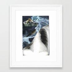 killer escape... Framed Art Print