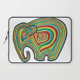 Vibrant Elephant Laptop Sleeve