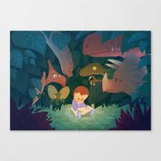 every child has a dream Canvas Print