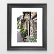 English Garden -  Tea Room Framed Art Print