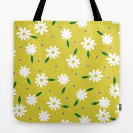 spring, yellow Tote Bag