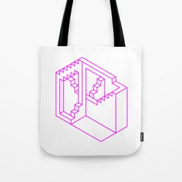Impossibility Outlined Tote Bag