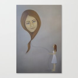 Floater III Canvas Print