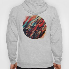 64 Watercolored Lines Hoody