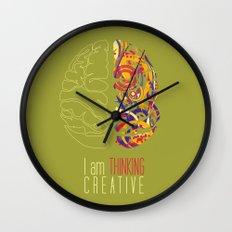 I am thinking Creative Wall Clock