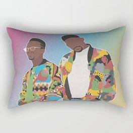 DJ JAZZY JEFF & THE FRESH PRINCE Rectangular Pillow