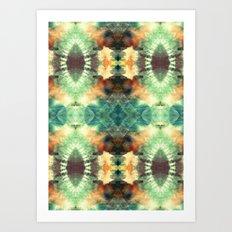 Kaleidoscopic Pattern Play Art Print