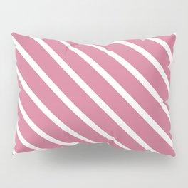 Lips Of An Angel Diagonal Stripes Pillow Sham