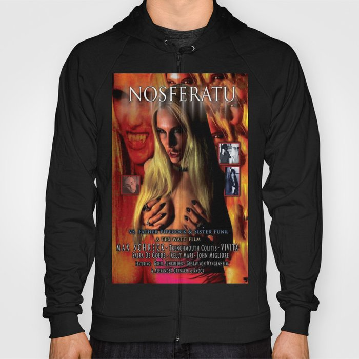 Nosferatu vs. Father Pipecock & Sister Funk (2014) -Movie Poster Hoody