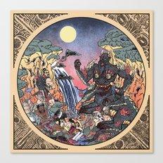The Villains—The T'ao Ti'ie  Canvas Print