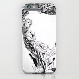 Anatomy Series: Uterus Flowers iPhone Case