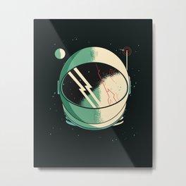 Death of an Astronaut Metal Print