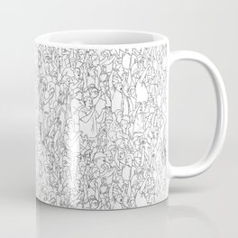 Crowd Coffee Mug