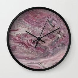 Simply Mauve-elous Wall Clock