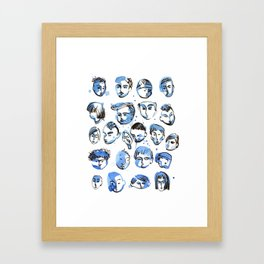 boyz Framed Art Print