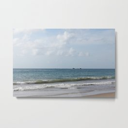 Rockly Bay - Scenic Beach on Tobago Metal Print