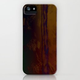 Deepest Lines iPhone Case
