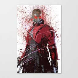 """Starlord"" Splatter Art Canvas Print"