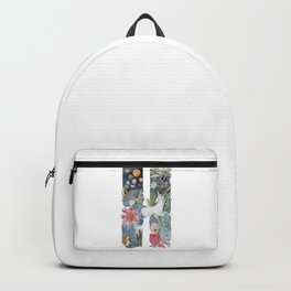 fairy tale alphabet. Letter H with unicorn Backpack
