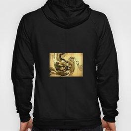 Dragon amid the waves by soga shohaku Hoody