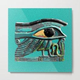 Wedjat Eye of Horus Metal Print