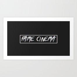 Fame Cinema Art Print