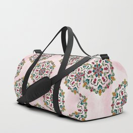 Botanical Mandala Duffle Bag