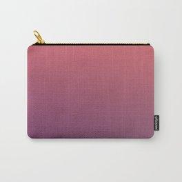 HAUNTED PUMPKIN - Minimal Plain Soft Mood Color Blend Prints Carry-All Pouch