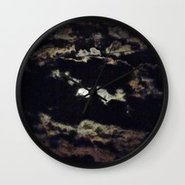 Midnight Sun  Wall Clock