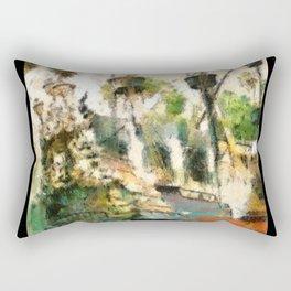 Ship Wrecked Rectangular Pillow