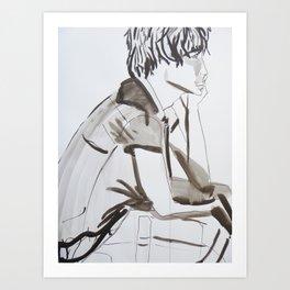 Surfer Boy 2 Art Print