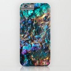 Turquoise Oil Slick Quartz Slim Case iPhone 6s