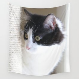 Curious Kitty Wall Tapestry