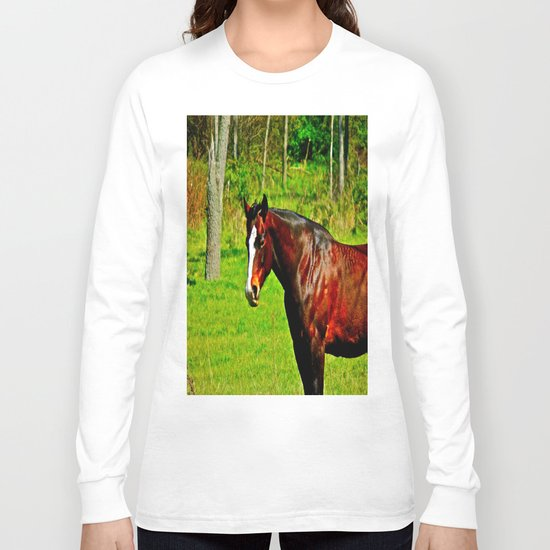 Equine Beauty Long Sleeve T-shirt