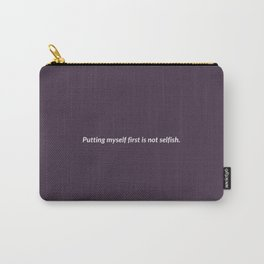 Not Selfish Carry-All Pouch