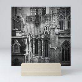 Manhattan Rooftops Mini Art Print