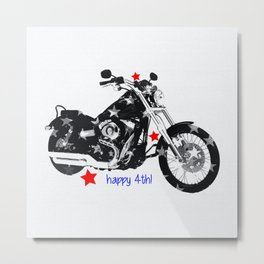 Happy 4th! Metal Print