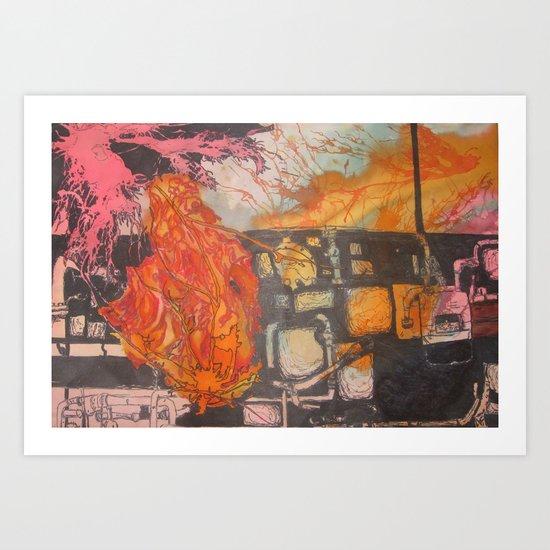 dichotomy Art Print