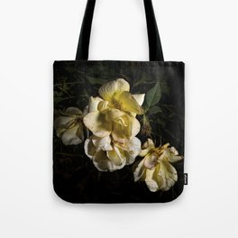 Wilted flowers Tote Bag